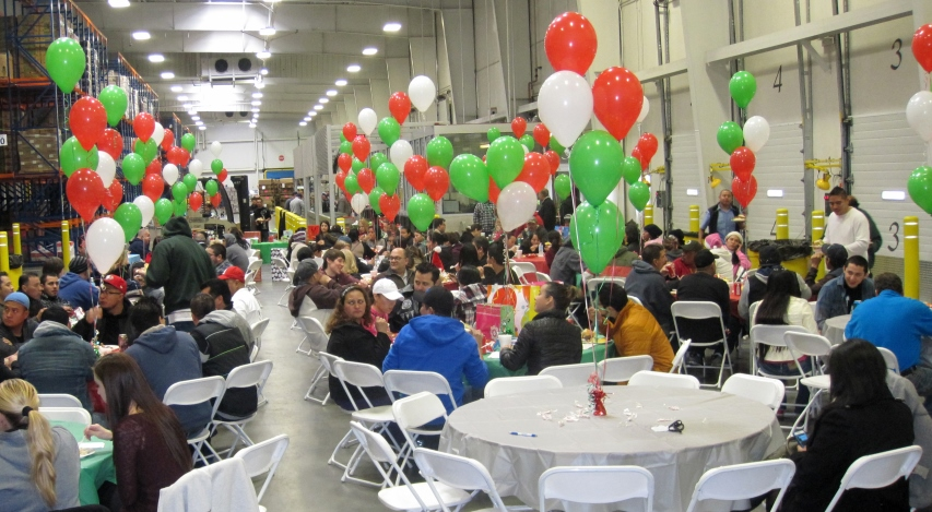 Holiday Party at Get Fresh